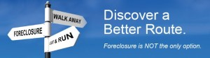 Foreclosure is not an option